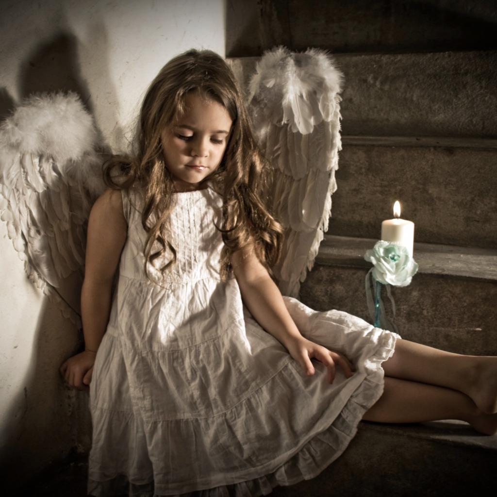 Веселые картинки, картинки девочки ангелы