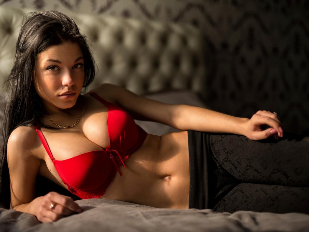 big boobs in red bra № 345881
