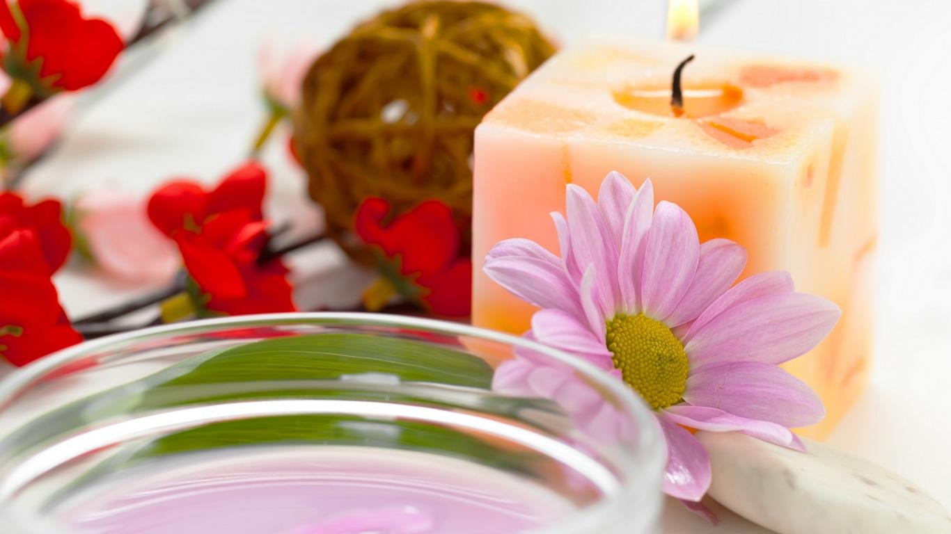 цветы свечи  № 1504406 бесплатно