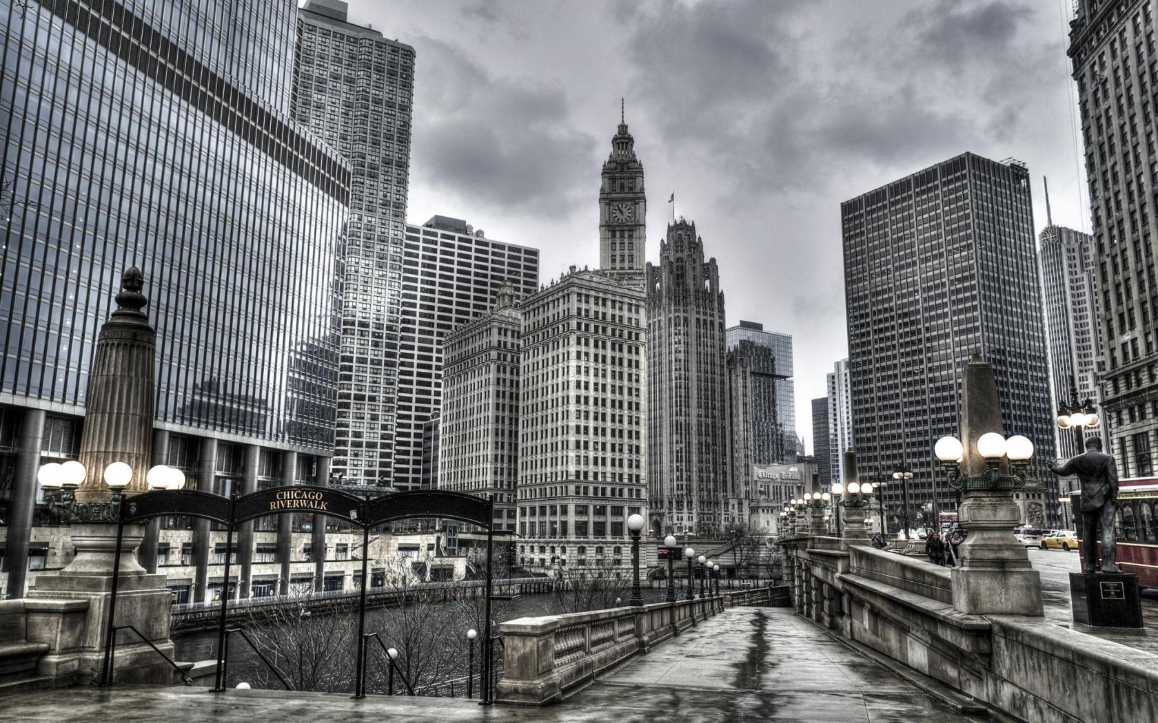Обои серые город фото