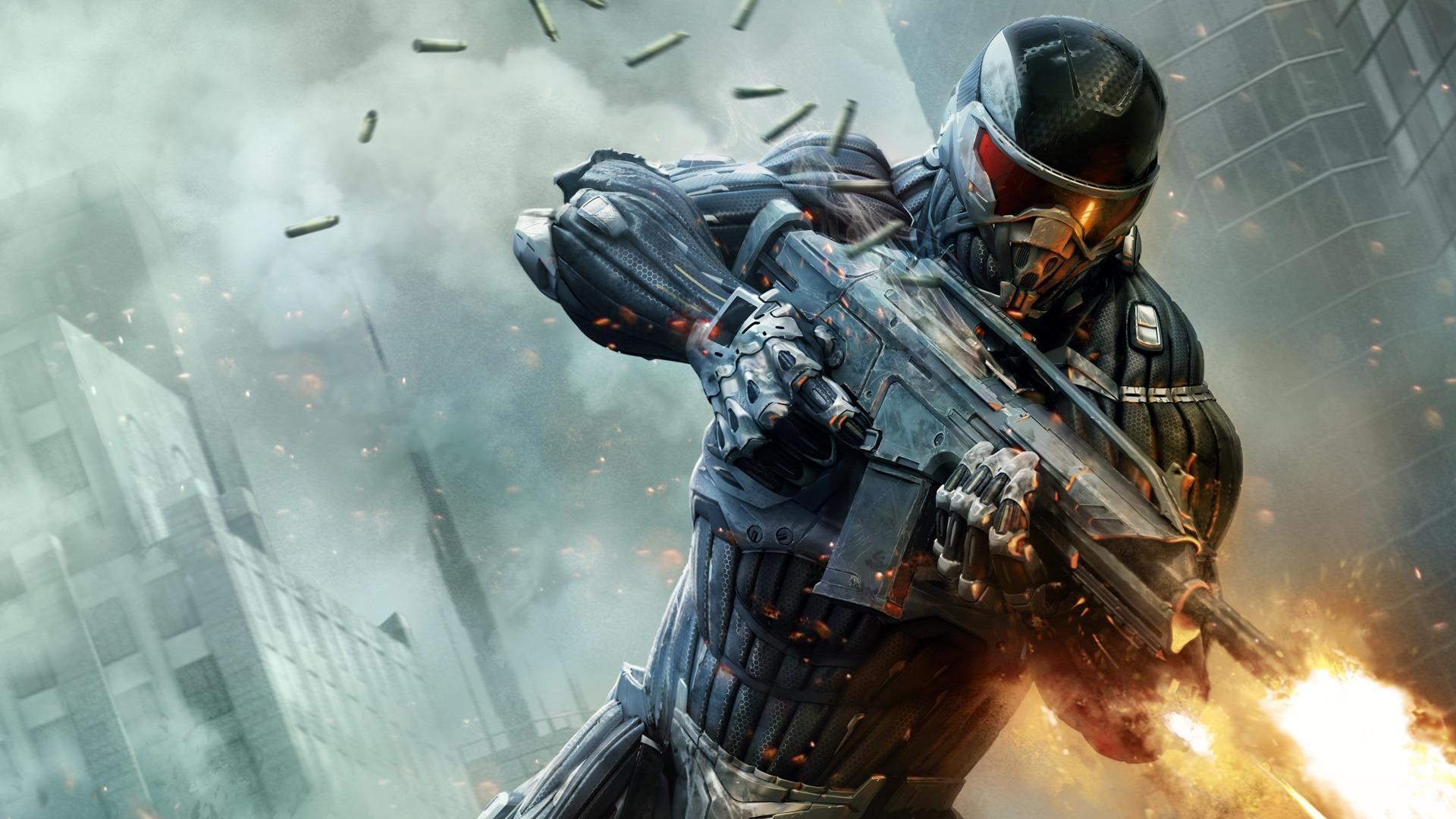 Crysis 2 оружие потроны nomad обои фото