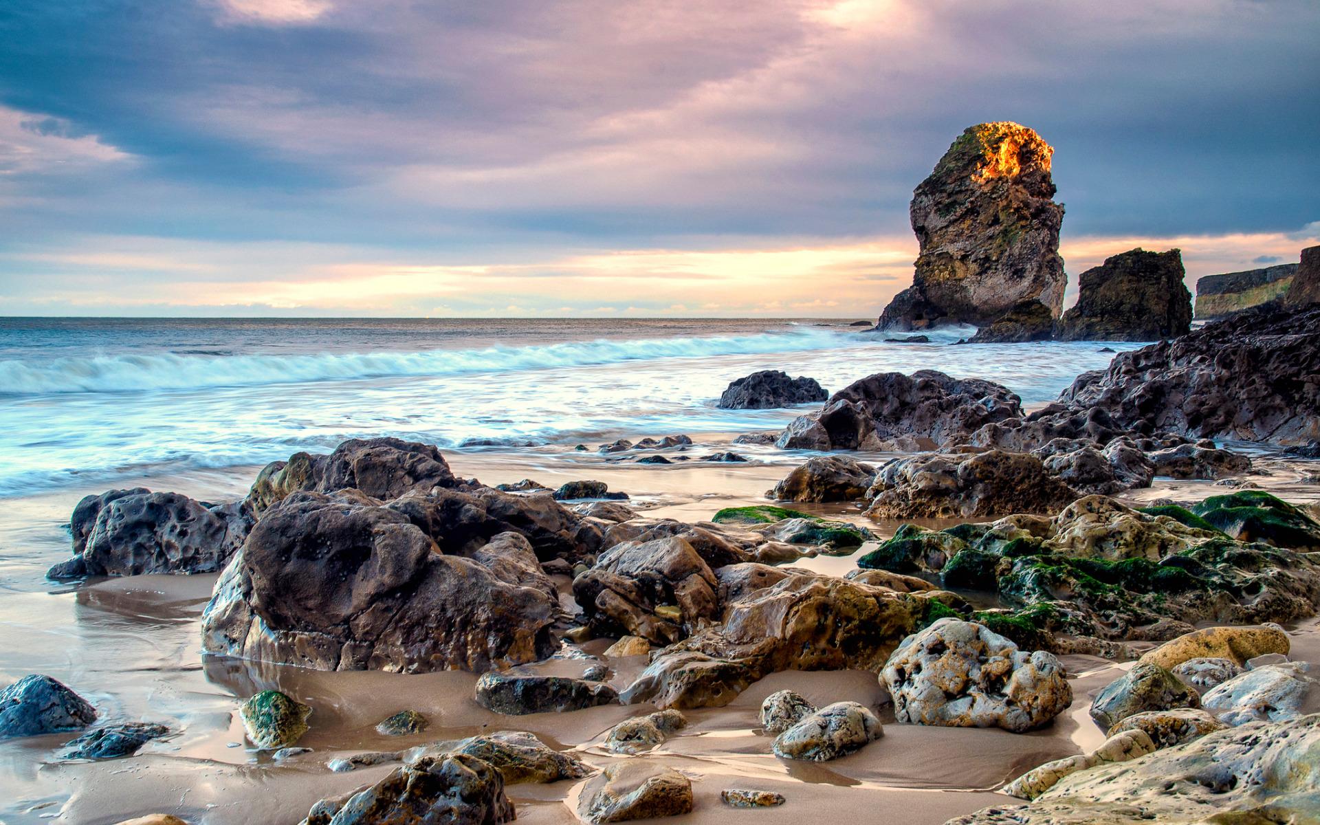 скала море камни rock sea stones  № 45254 бесплатно