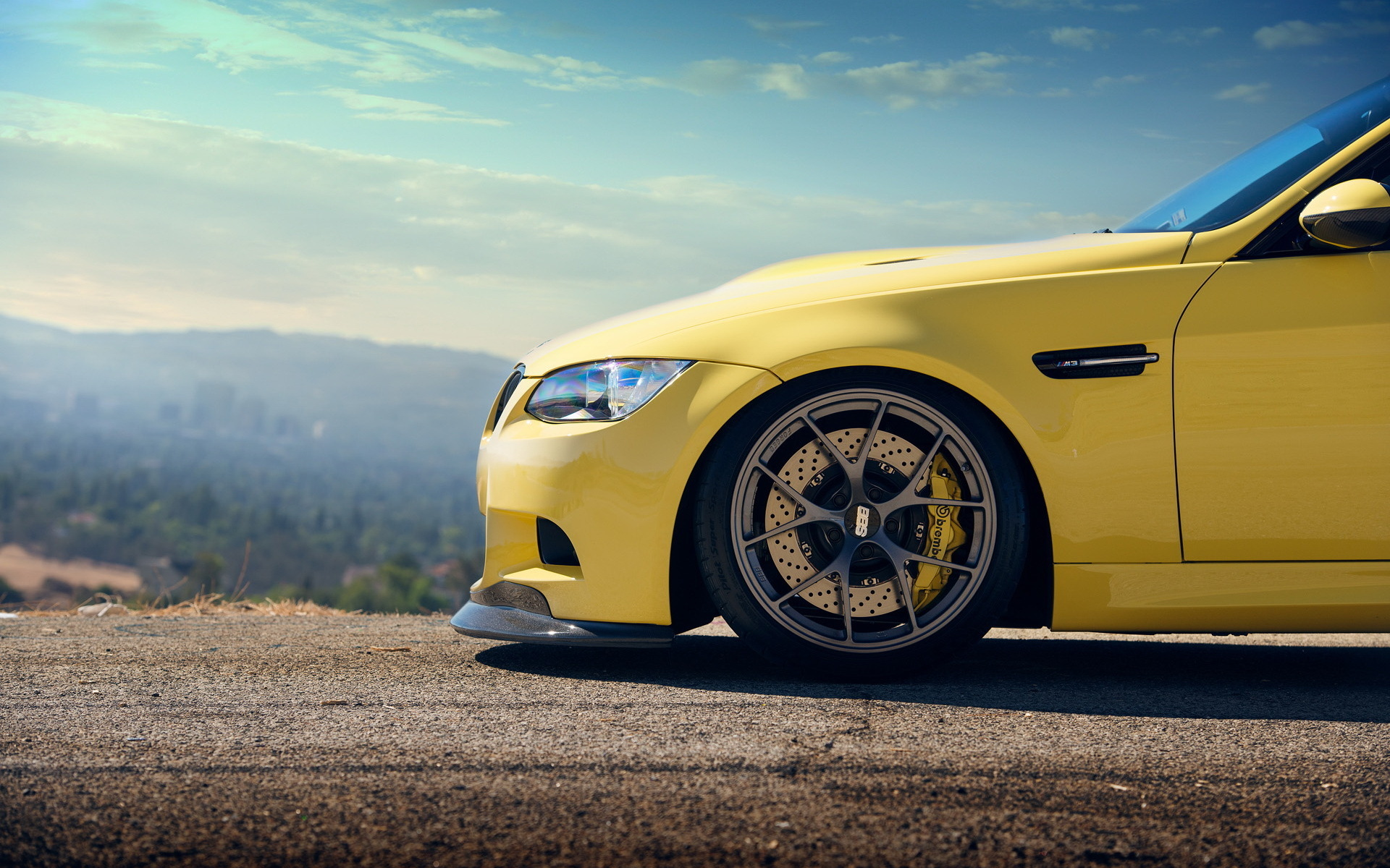 BMW M3 Желтое  № 844730 бесплатно
