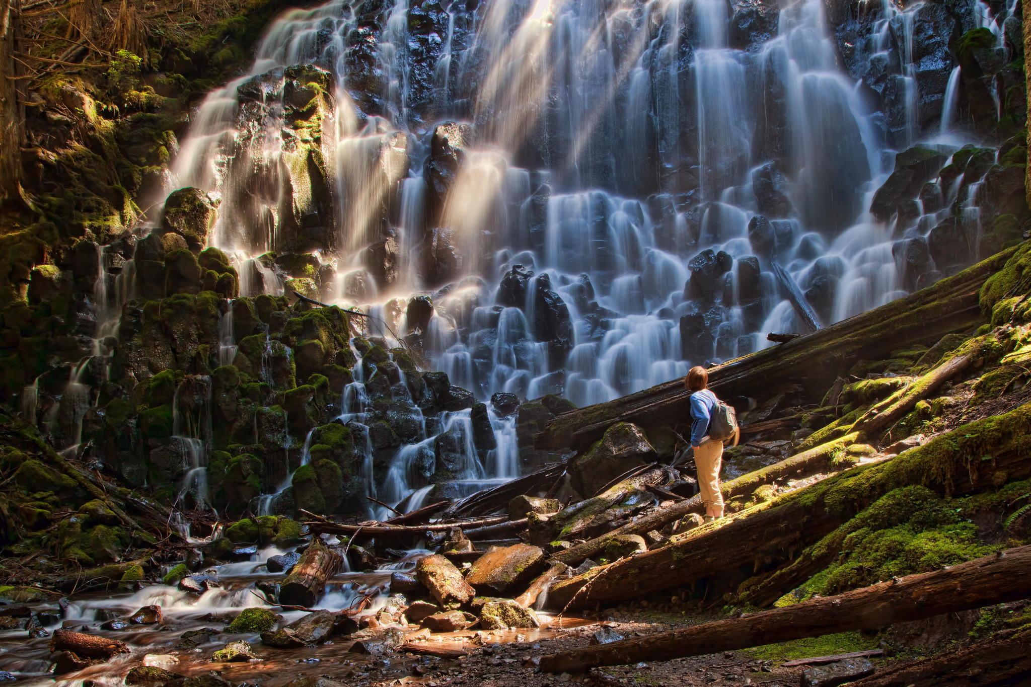 в чем фотографироваться на водопадах монтажа