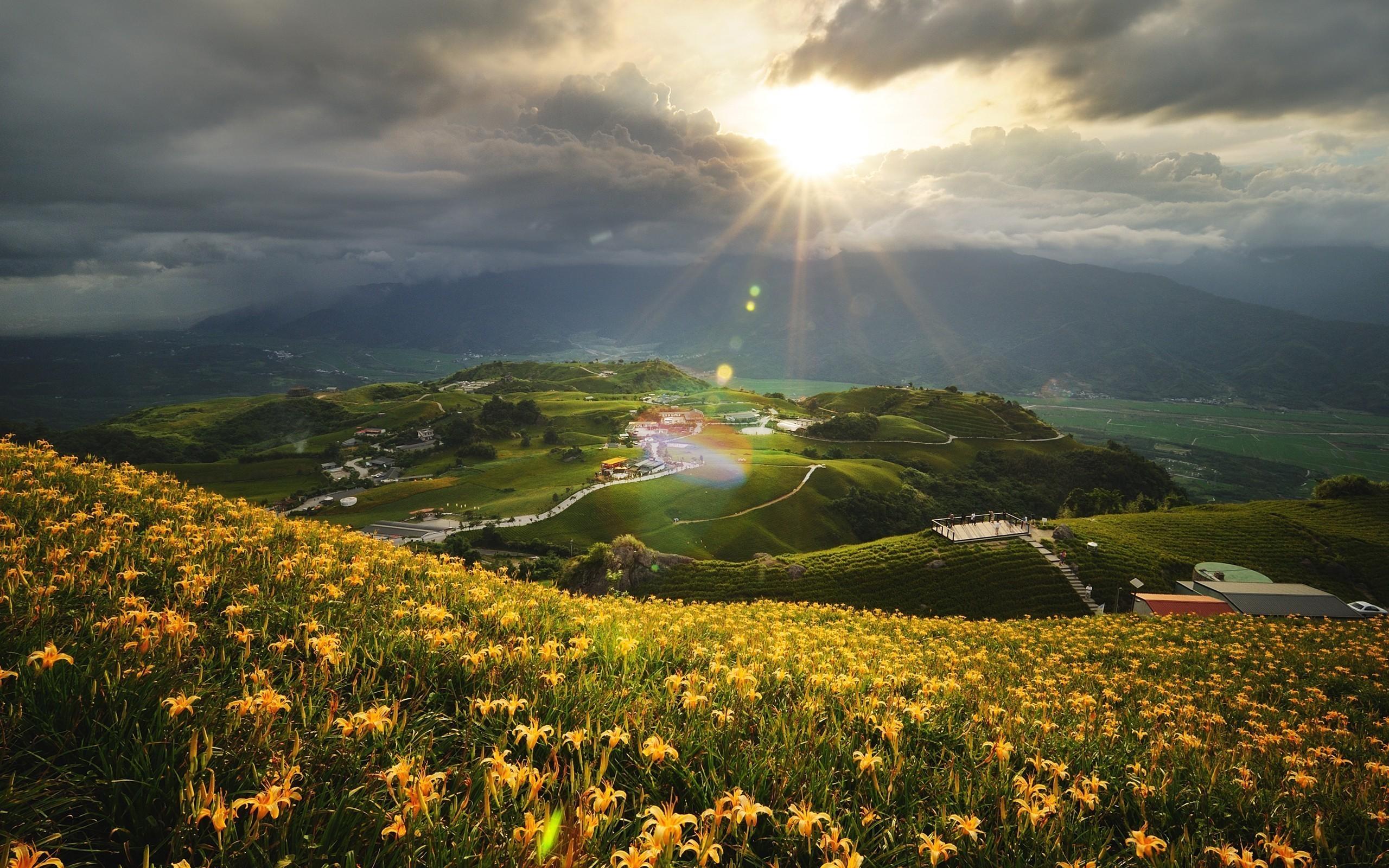 Холмы горы солнце  № 2744557 загрузить