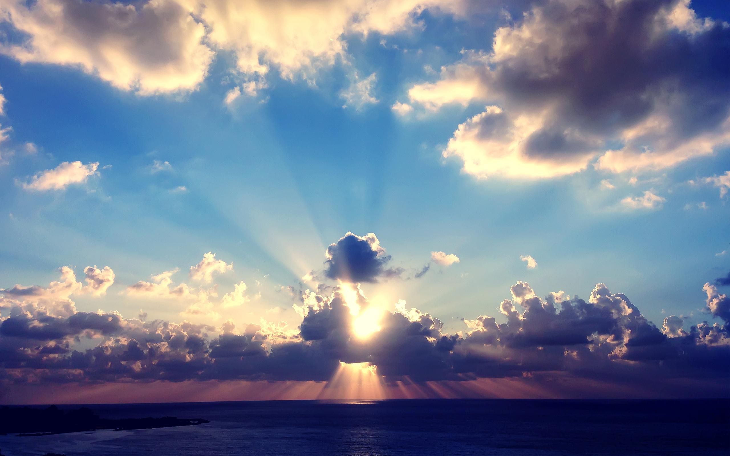 Море солнце лучи Sea the sun rays  № 1623288 без смс