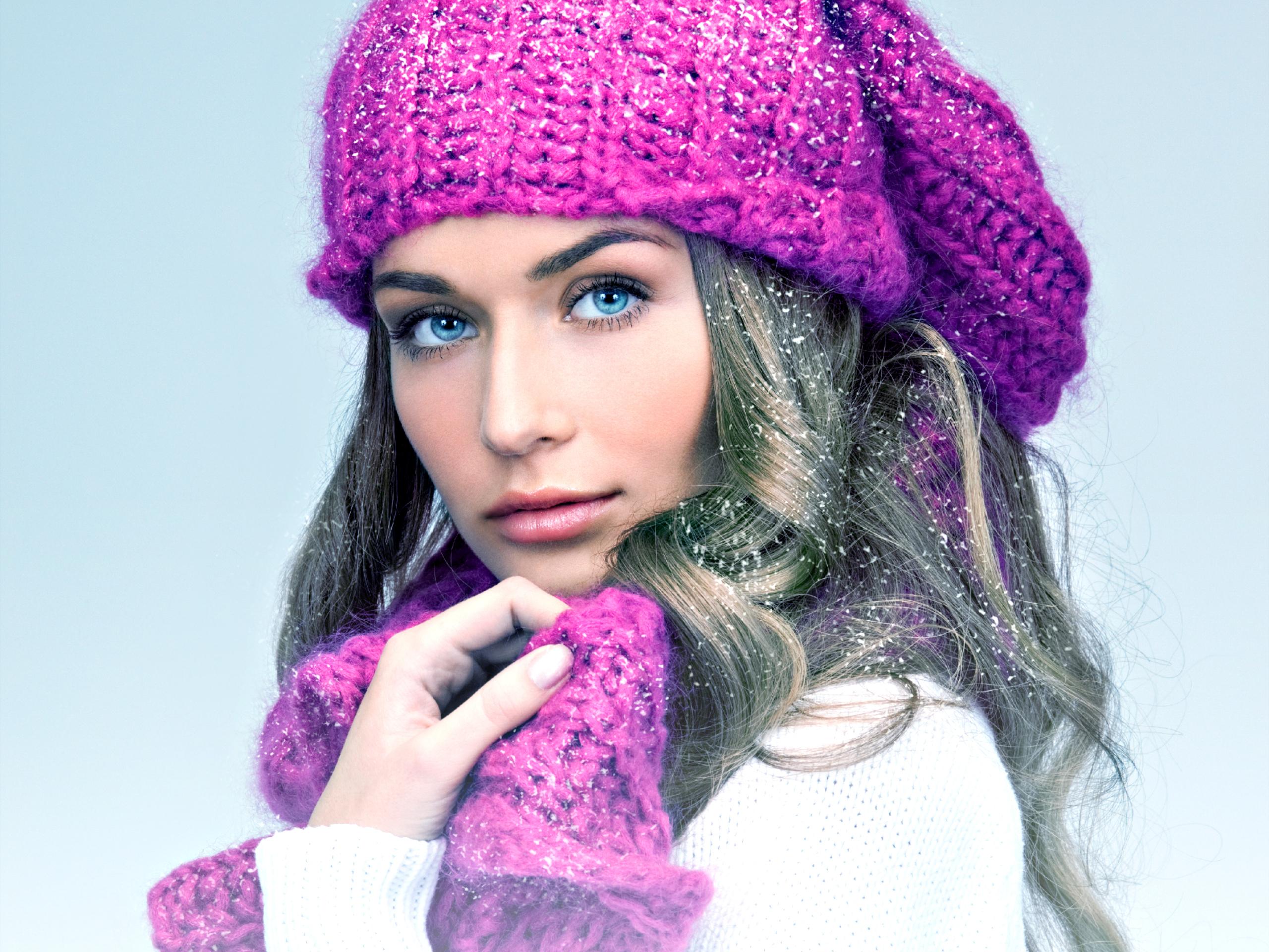 Фото девушка в шапочке 11 фотография
