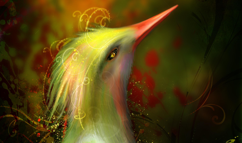 Красивые картинки фэнтези птиц