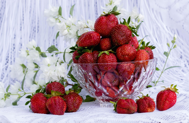 Открытки ягоды цветы, картинки
