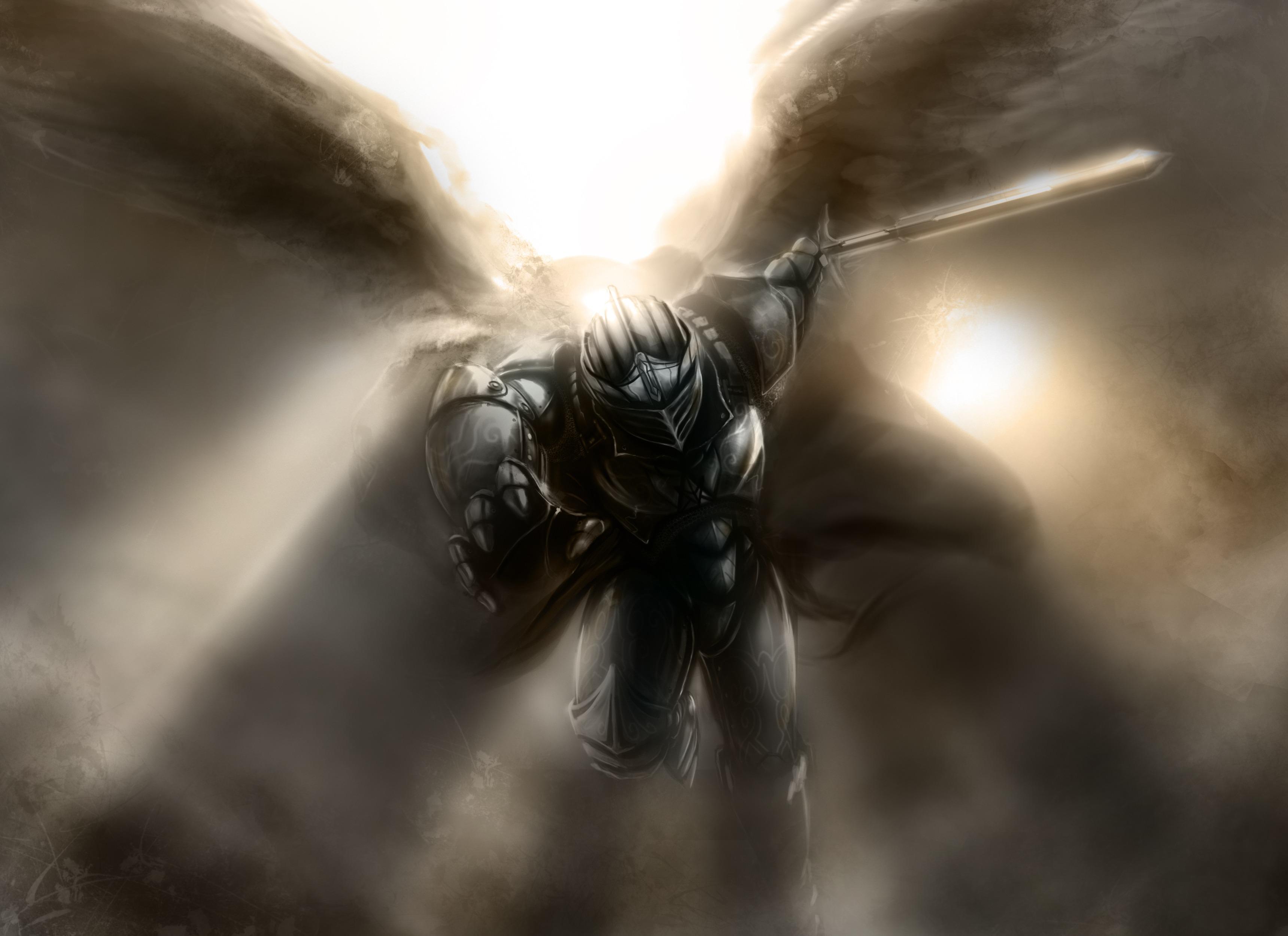 воин ангел картинки