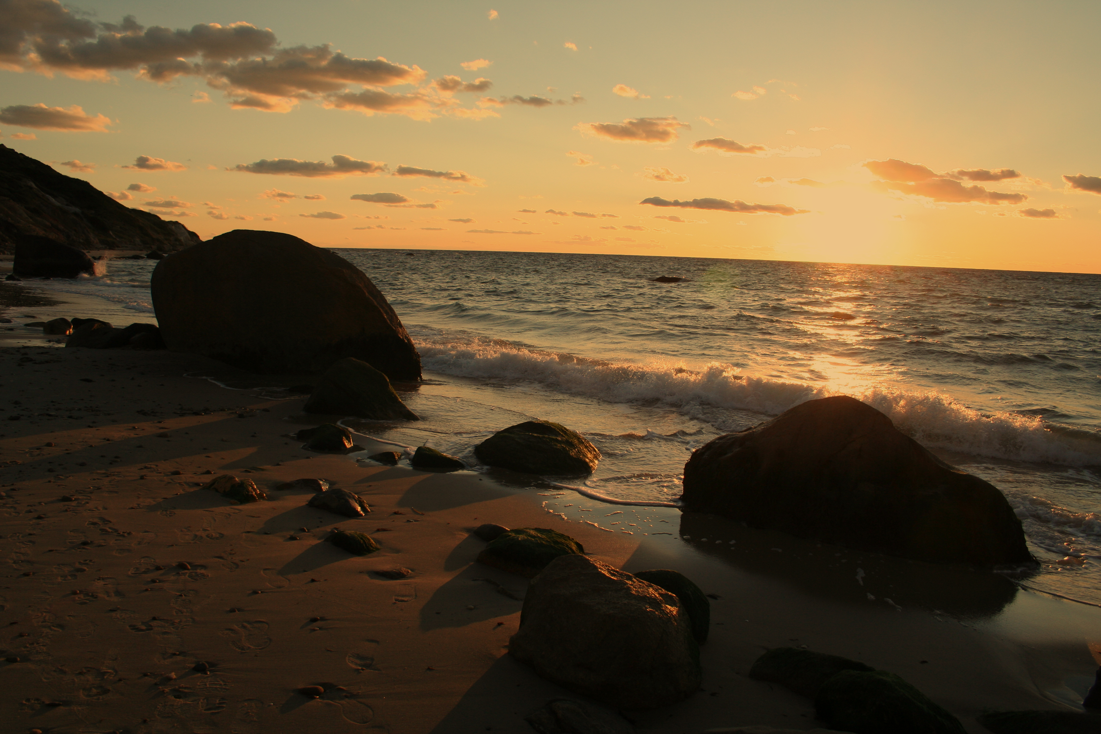 Берег закат песок  № 1209242 без смс