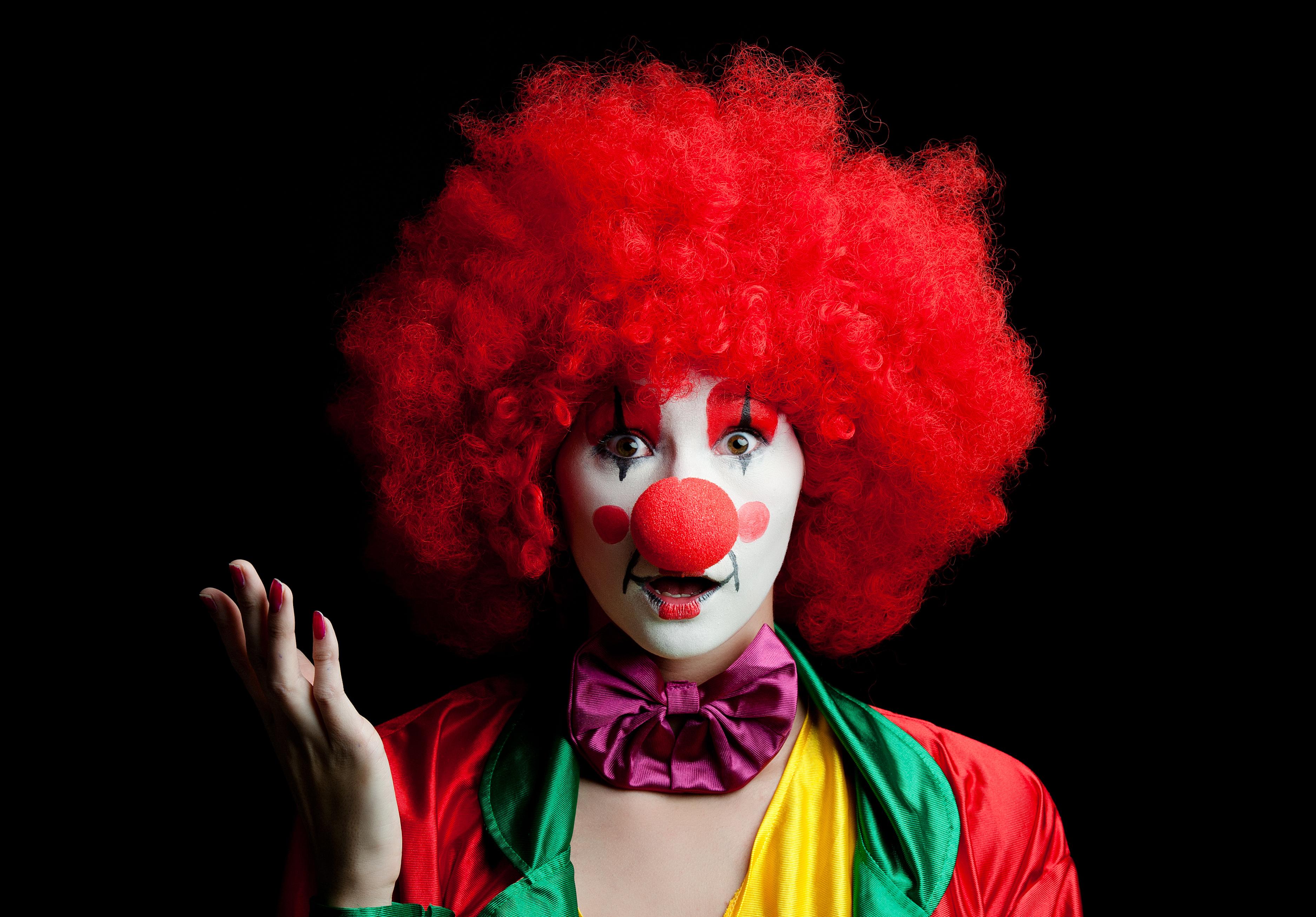 фото красивых клоунов обошлось без вкусных