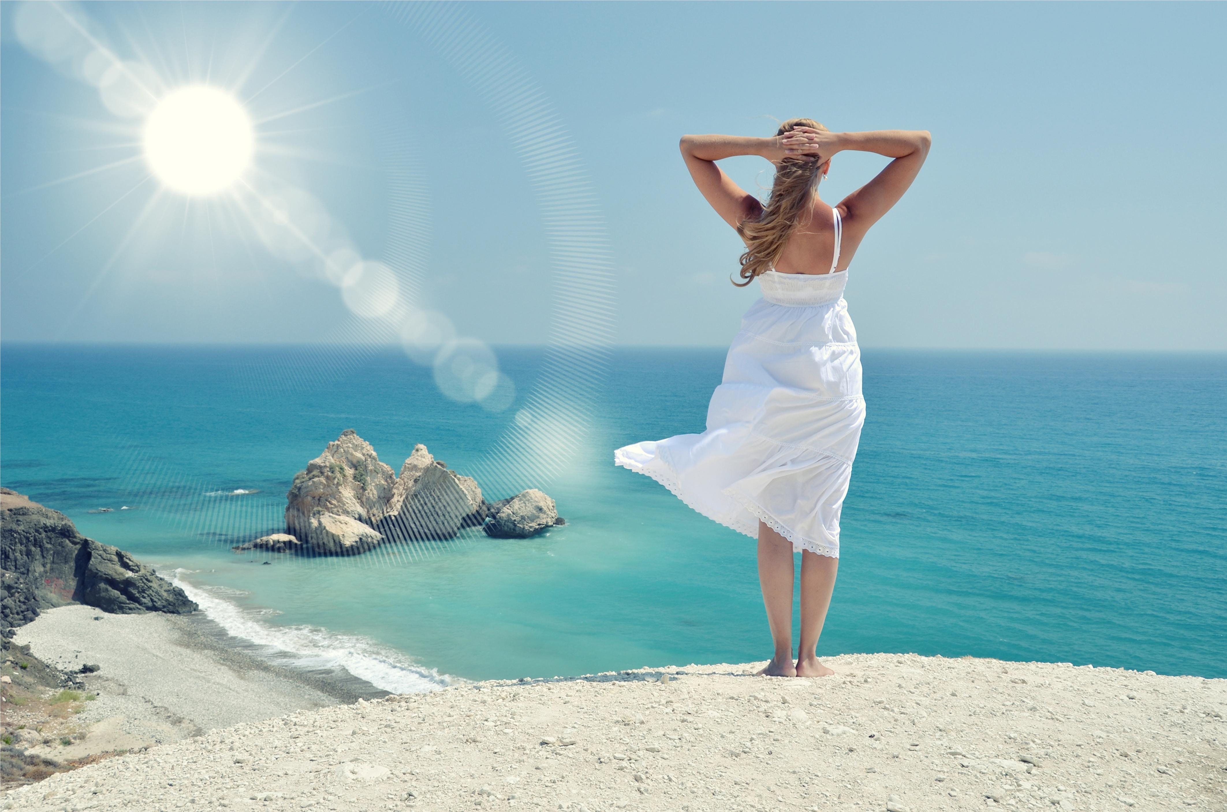 Солнце пляж девушки 28 фотография