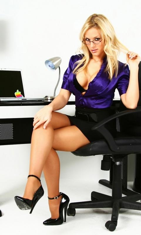 секретарши блондинки фото
