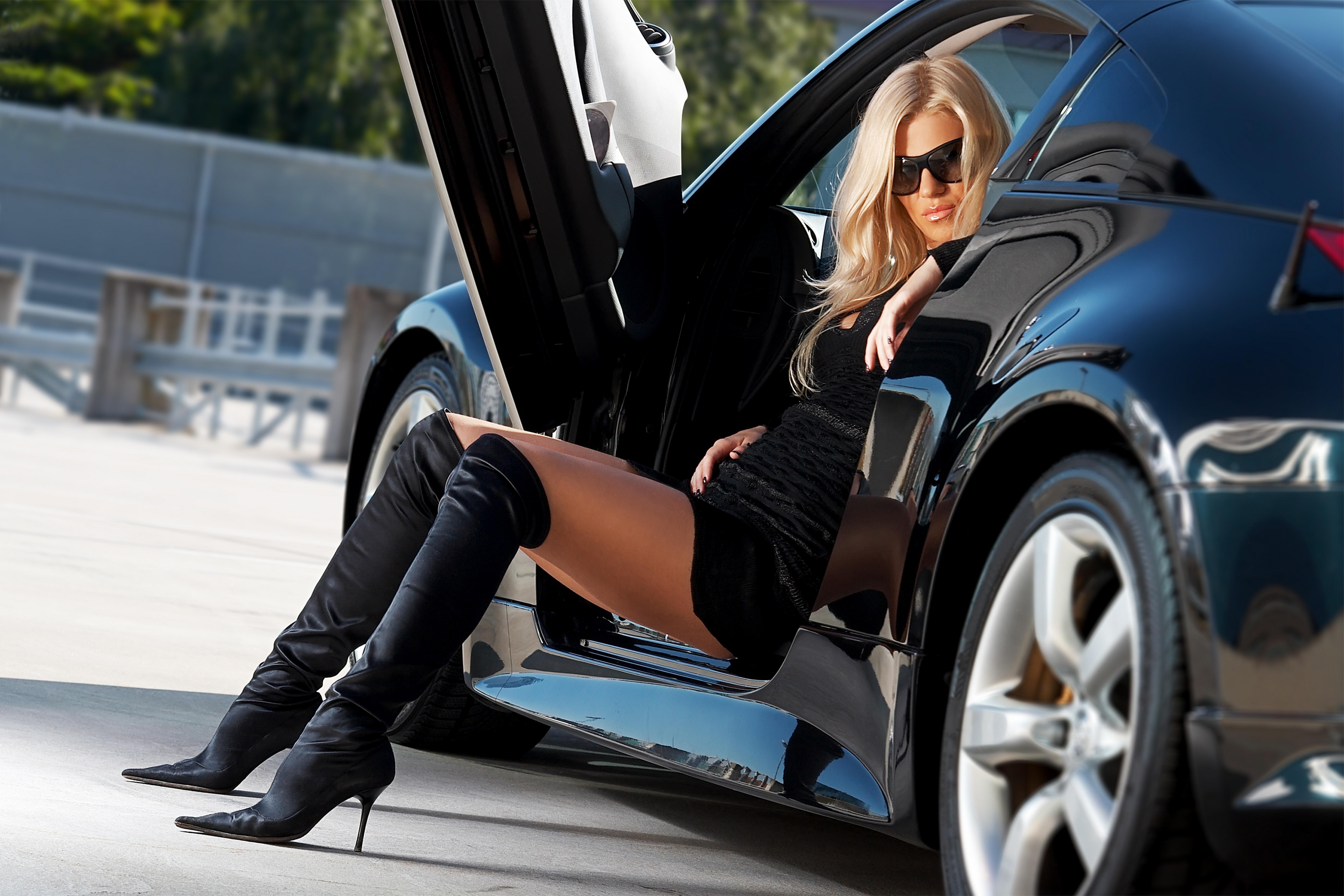 Супер фото девушек и авто 15 фотография