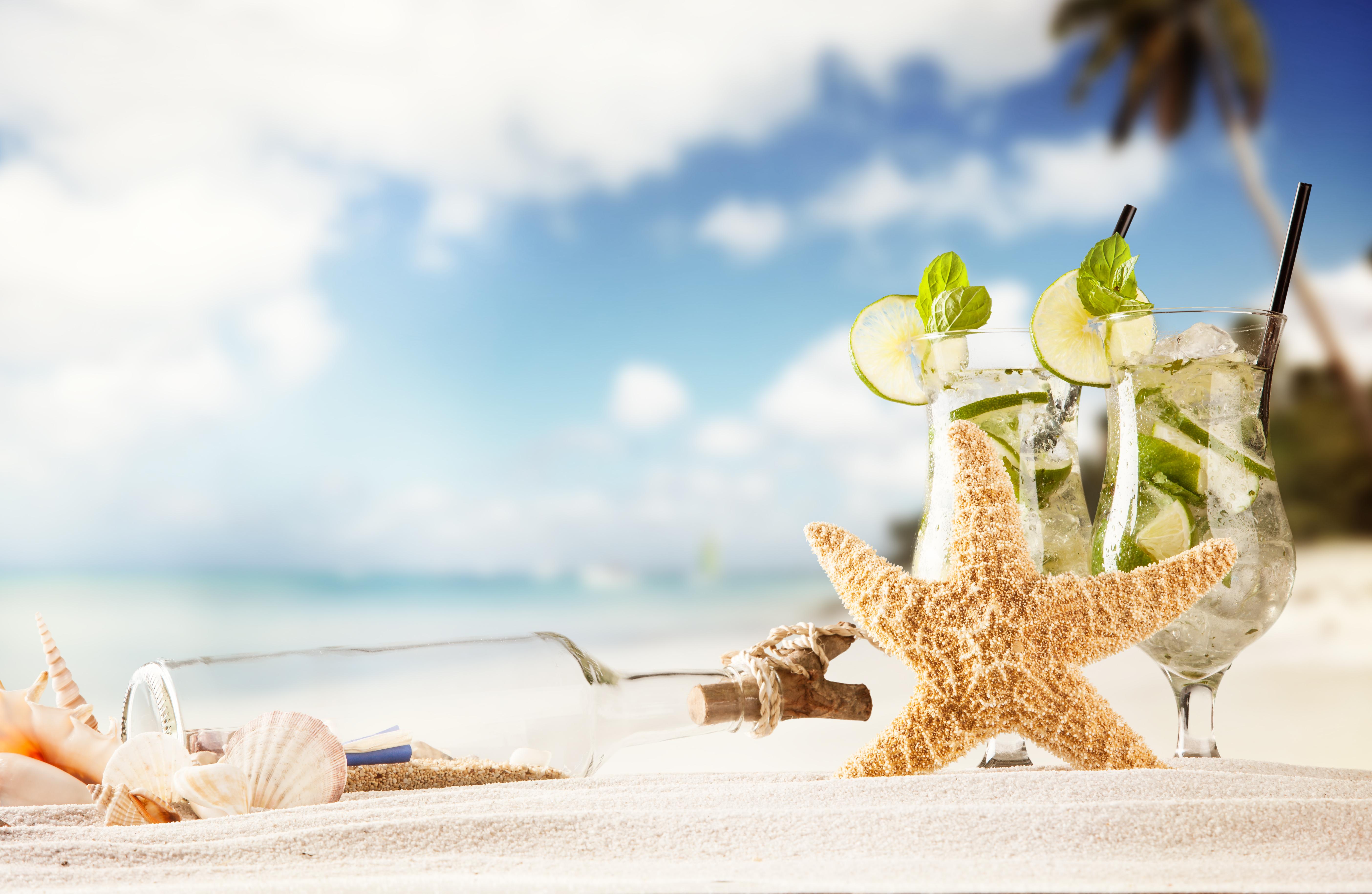 Лето пляж открытки, открытки