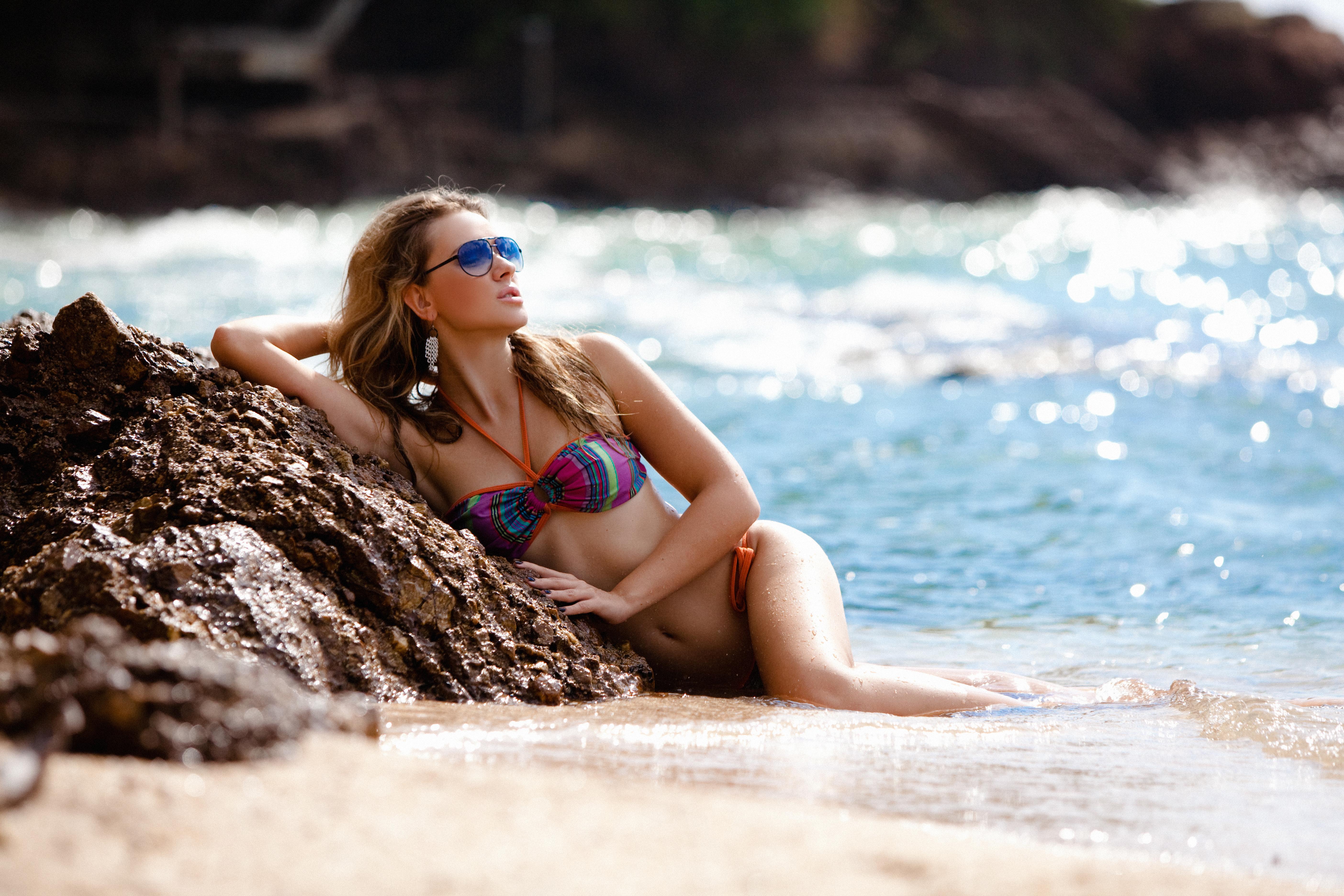 Красивые девушки фото на море