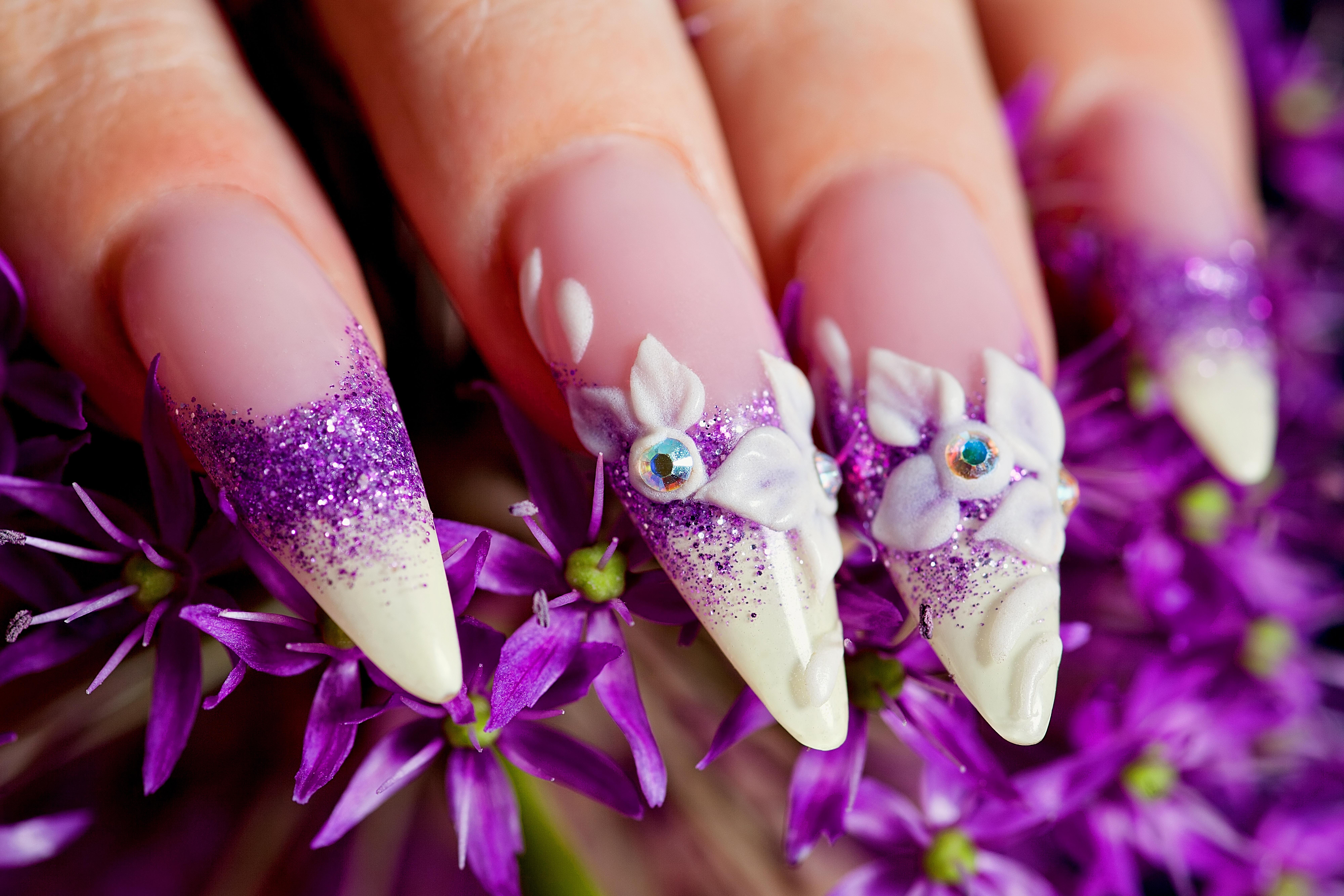 Картинки с тематикой наращивание ногтей