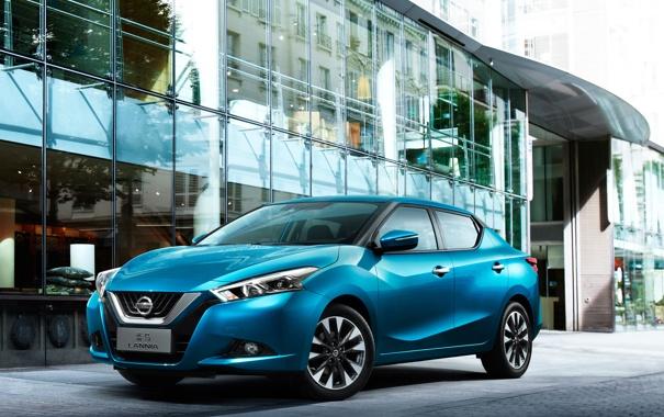 Фото обои Nissan, ниссан, 2015, Lannia, ланниа