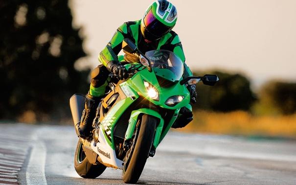 Фото обои Kawasaki, moto, 1920x1200, Ninja ZX-10R