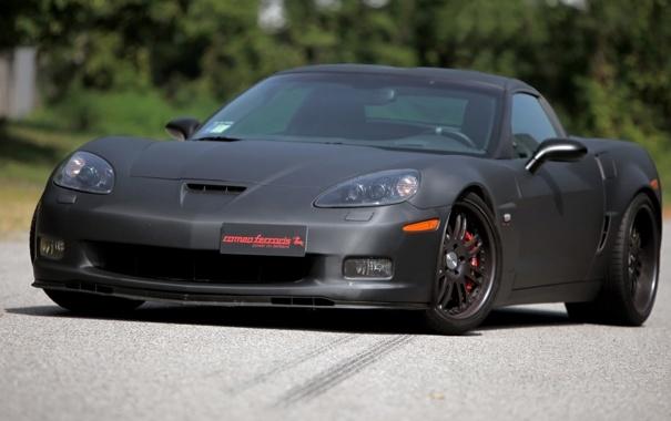 Фото обои Corvette, z06, Chevrolet