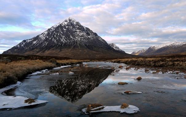 Фото обои пейзаж, гора, Scotland, Ballachulish