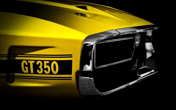 Фото обои фон, Ford, классика, 350, Мускул кар