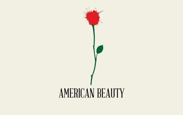 Фото обои цветок, минимализм, Красота по-американски
