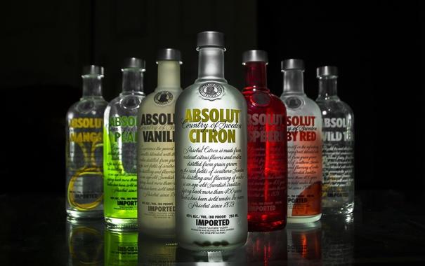 Фото обои фон, напитки, водка, Absolut