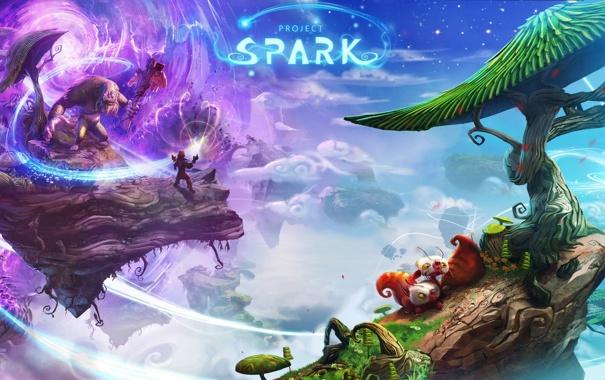Фото обои Project Spark, game maker, Team Dakota