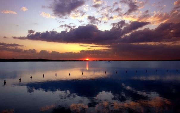 Фото обои вода, фото, пейзажи, корабль