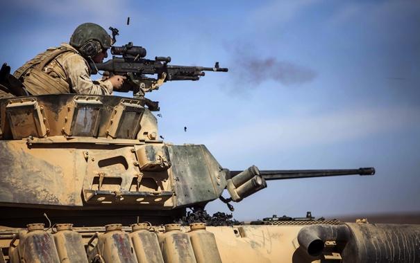 Фото обои армия, солдат, оружие