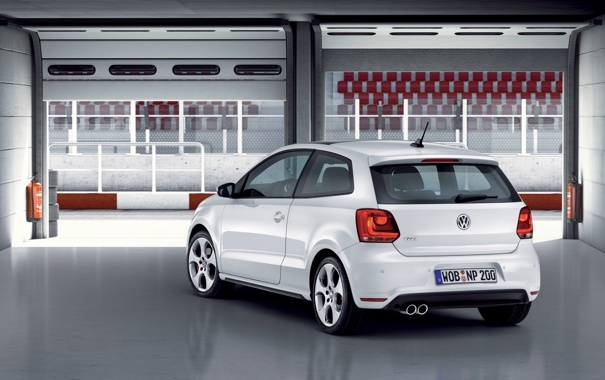 Фото обои 1920x1200, Polo GTI, widescreen, volkswagen