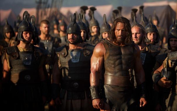 Фото обои армия, солдаты, Дуэйн Джонсон, Геркулес, Dwayne Johnson, Hercules