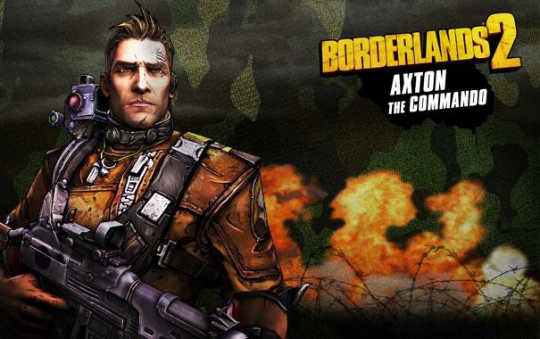Фото обои оружие, Commando, RPG, 2K Games, Borderlands 2, Gearbox Software, Unreal Engine 3