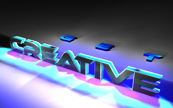 Фото обои Design, text, creative, get
