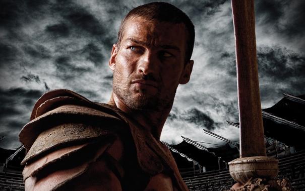 Фото обои blood, сериал, арена, sand, spartacus, спартак, starz