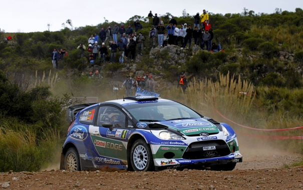 Фото обои Ford, Люди, Форд, Гонка, WRC, Rally, Ралли