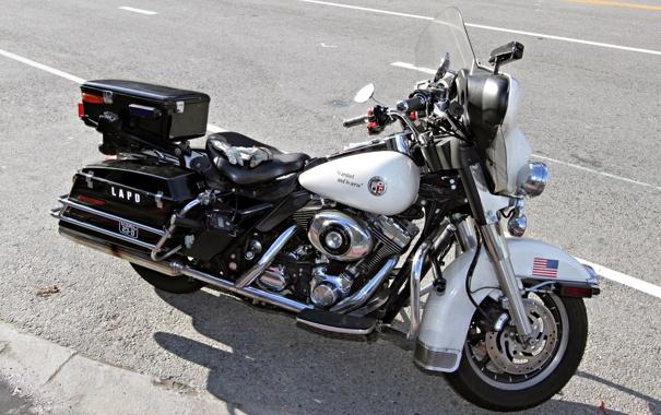 Фото обои дорога, тюнинг, мотоцикл, США, Harley-Davidson, тяжёлый, классический дизайн