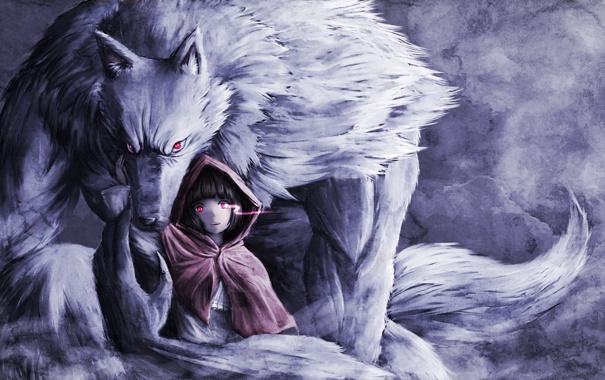 девочки волки аниме картинки: