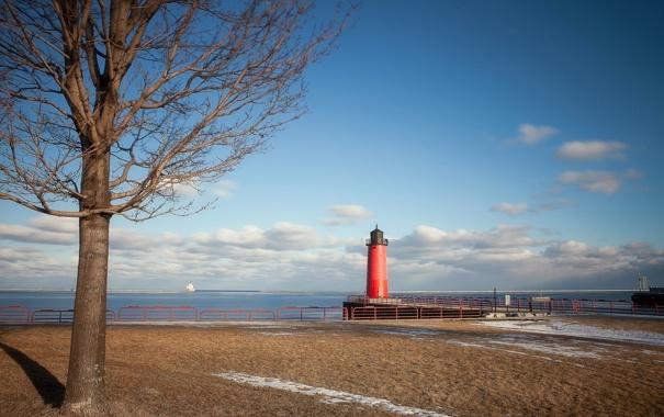 Фото обои United States, Wisconsin, Downtown, Milwaukee