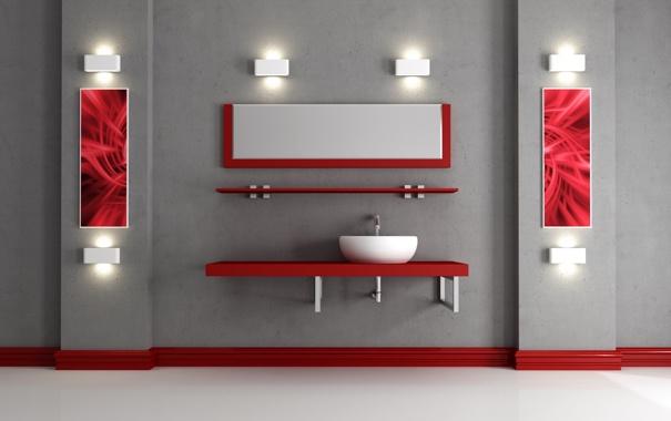 Фото обои свет, стена, пол, Интерьер, полки