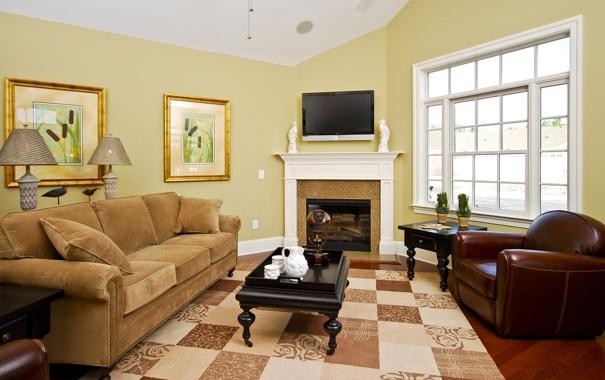 Фото обои дизайн, дом, стиль, вилла, интерьер, камин, гостиная