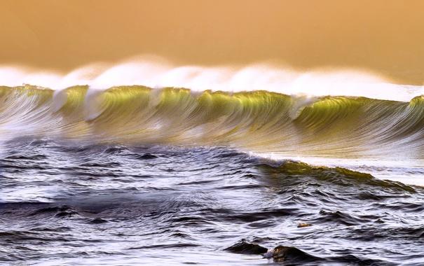 Фото обои море, волны, брызги, океан