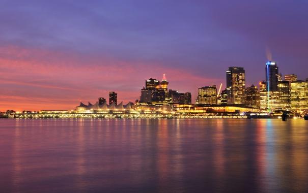 Фото обои город, Канада, Ванкувер