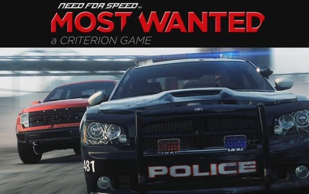 Фото обои Ford, полиция, погоня, внедорожник, гонки, Dodge Charger, need for speed most wanted 2