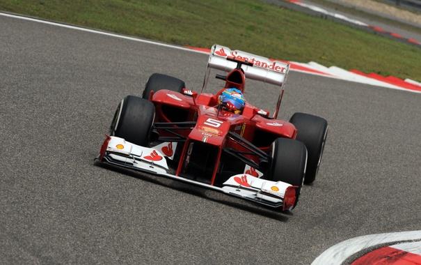 Фото обои Формула 1, Ferrari, Fernando Alonso, Фернандо Алонсо, f2012