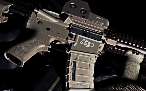 Фото обои gun, assault