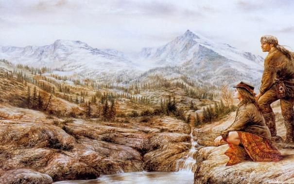 Фото обои картина, живопись, Luis Royo, painting, Луис Ройо