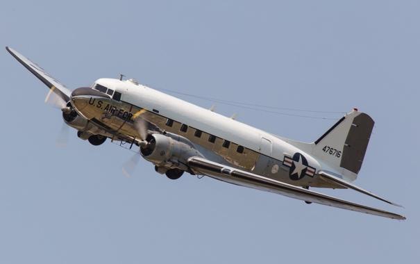 Фото обои небо, полет, самолет, пропеллер